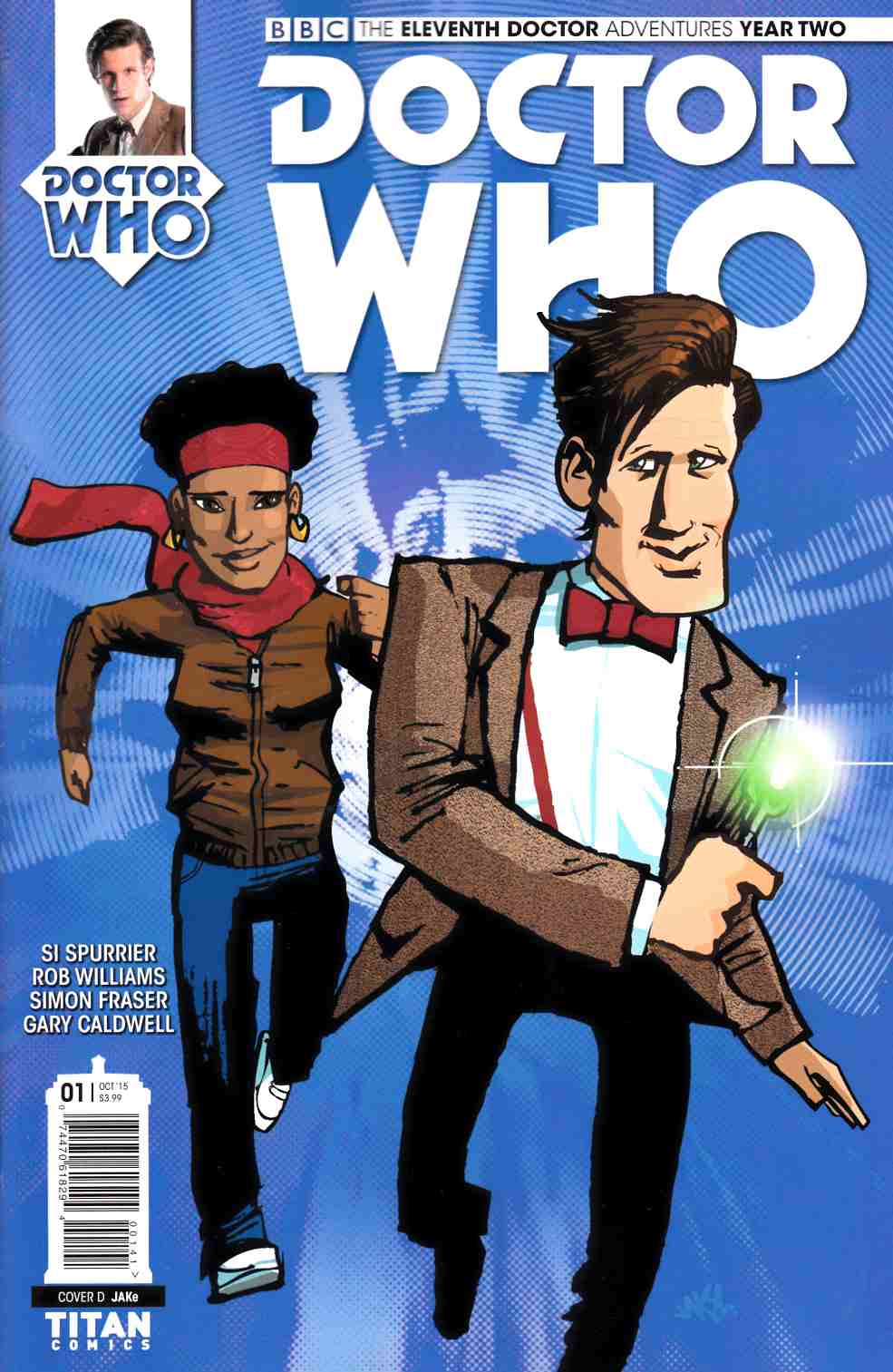Doctor Who 11th Doctor Year 2 #1 Jake Variant Cover [Titan Comic]