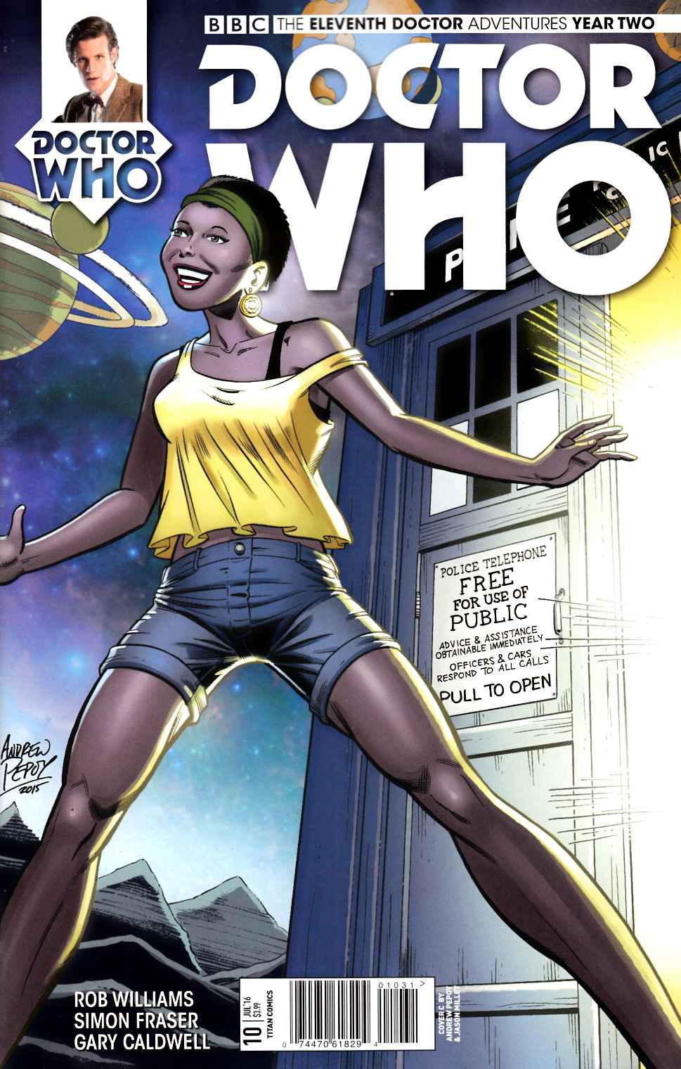 Doctor Who 11th Doctor Year Two #10 Cover C [Titan Comic] THUMBNAIL