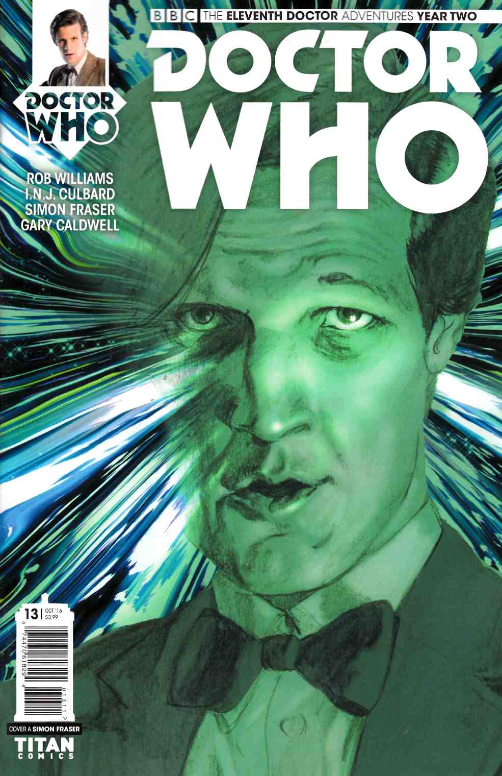 Doctor Who 11th Doctor Year Two #13 Cover A [Titan Comic] LARGE