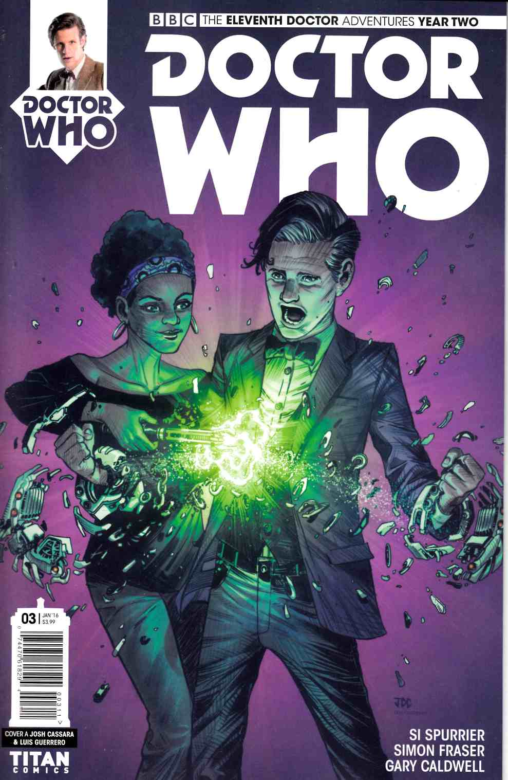Doctor Who 11th Doctor Year 2 #3 [Titan Comic] THUMBNAIL