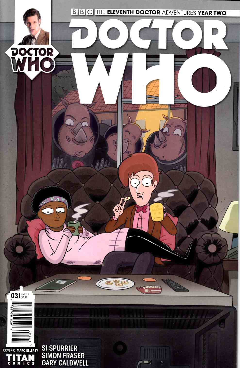 Doctor Who 11th Doctor Year 2 #3 Cover C- Ellerby [Titan Comic]