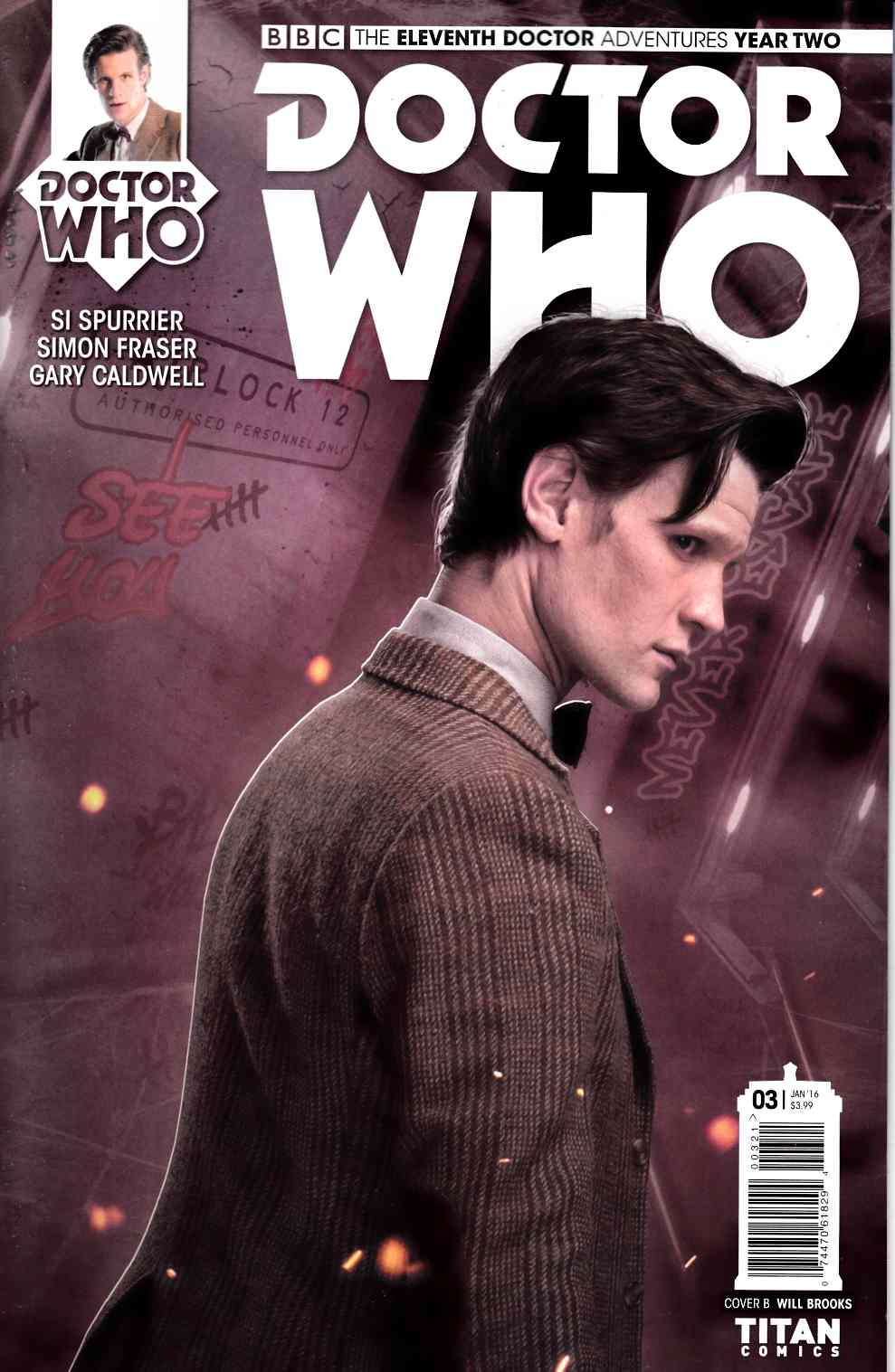 Doctor Who 11th Doctor Year 2 #3 Cover B- Subscription Photo [Titan Comic]