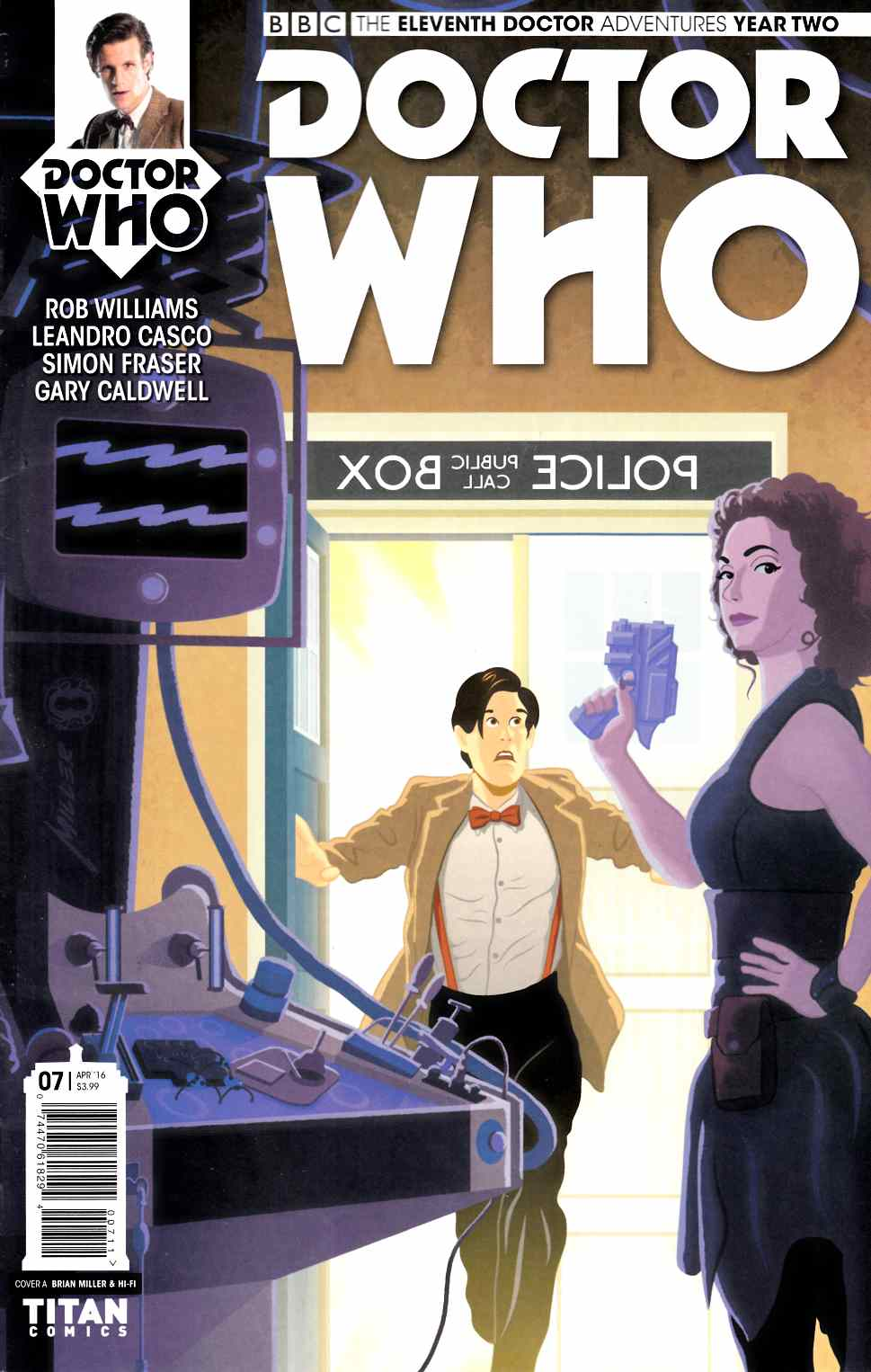 Doctor Who 11th Doctor Year Two #7 Cover A [Titan Comic]