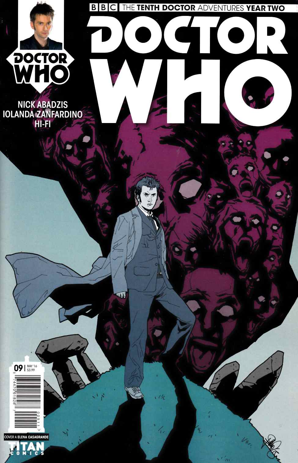 Doctor Who 10th Doctor Year Two #9 Cover A [Titan Comic] THUMBNAIL