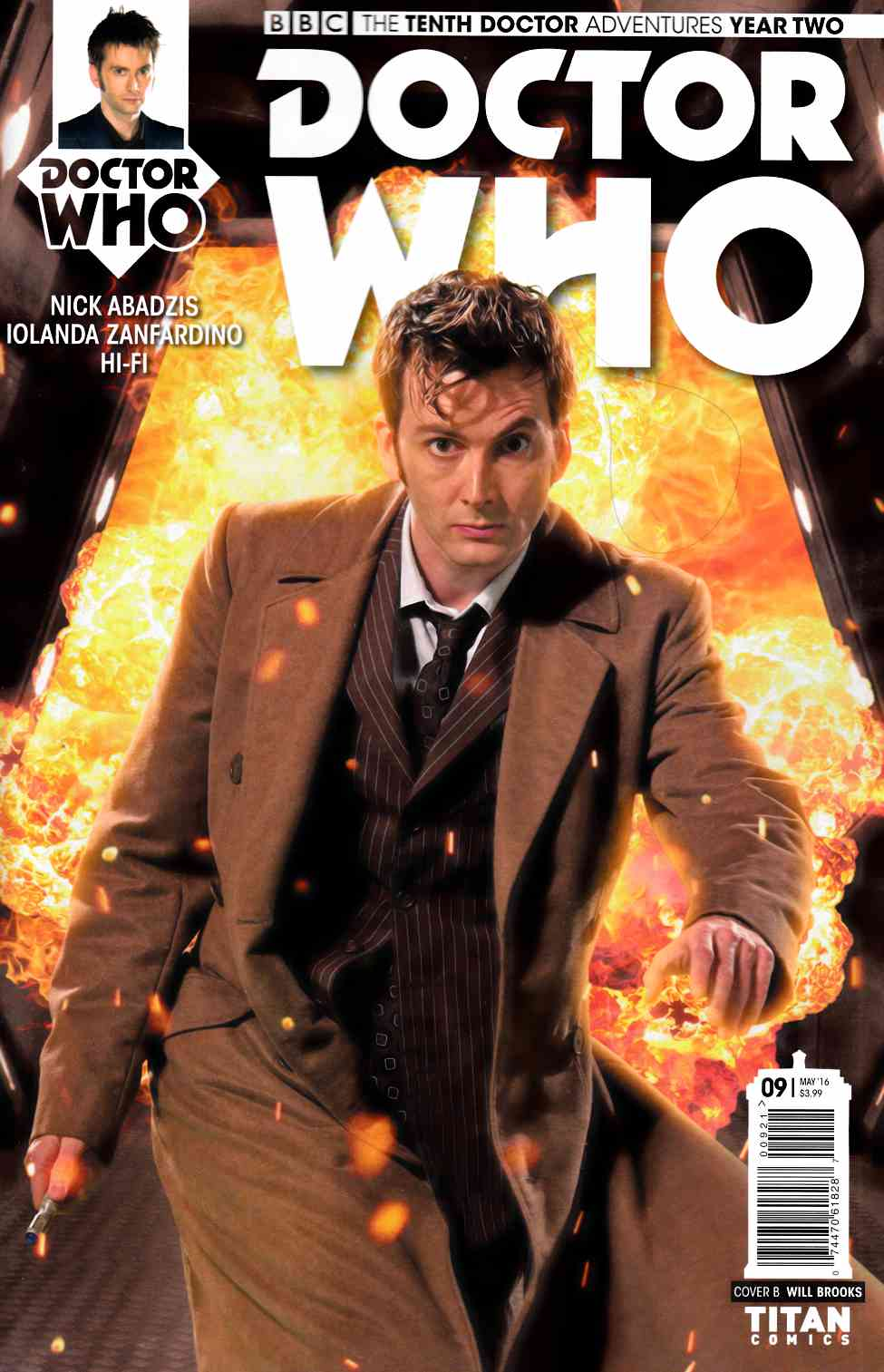 Doctor Who 10th Doctor Year Two #9 Cover B [Titan Comic] THUMBNAIL