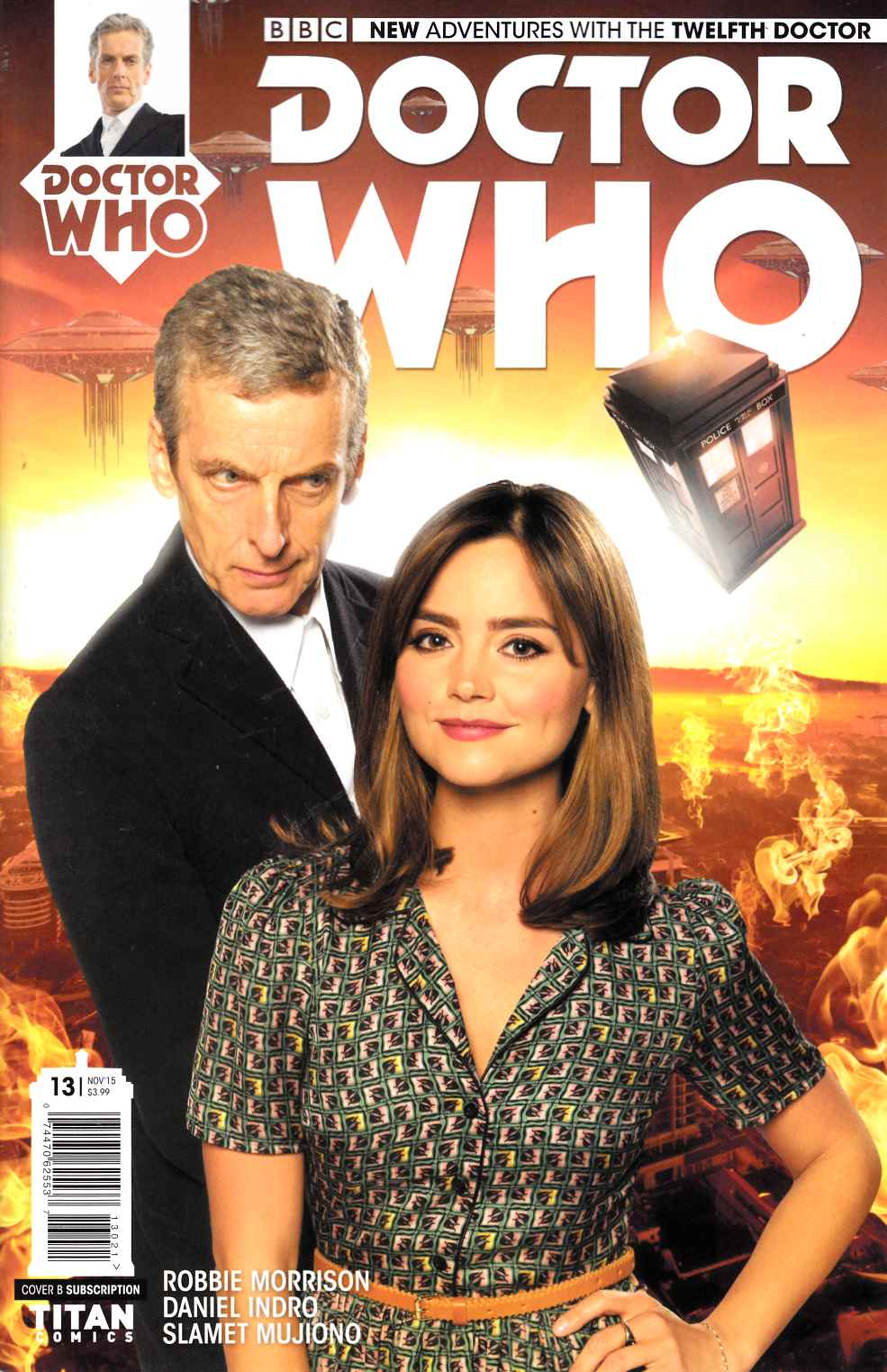 Doctor Who 12th Doctor #13 Subscription Photo Variant Cover [Titan Comic] THUMBNAIL