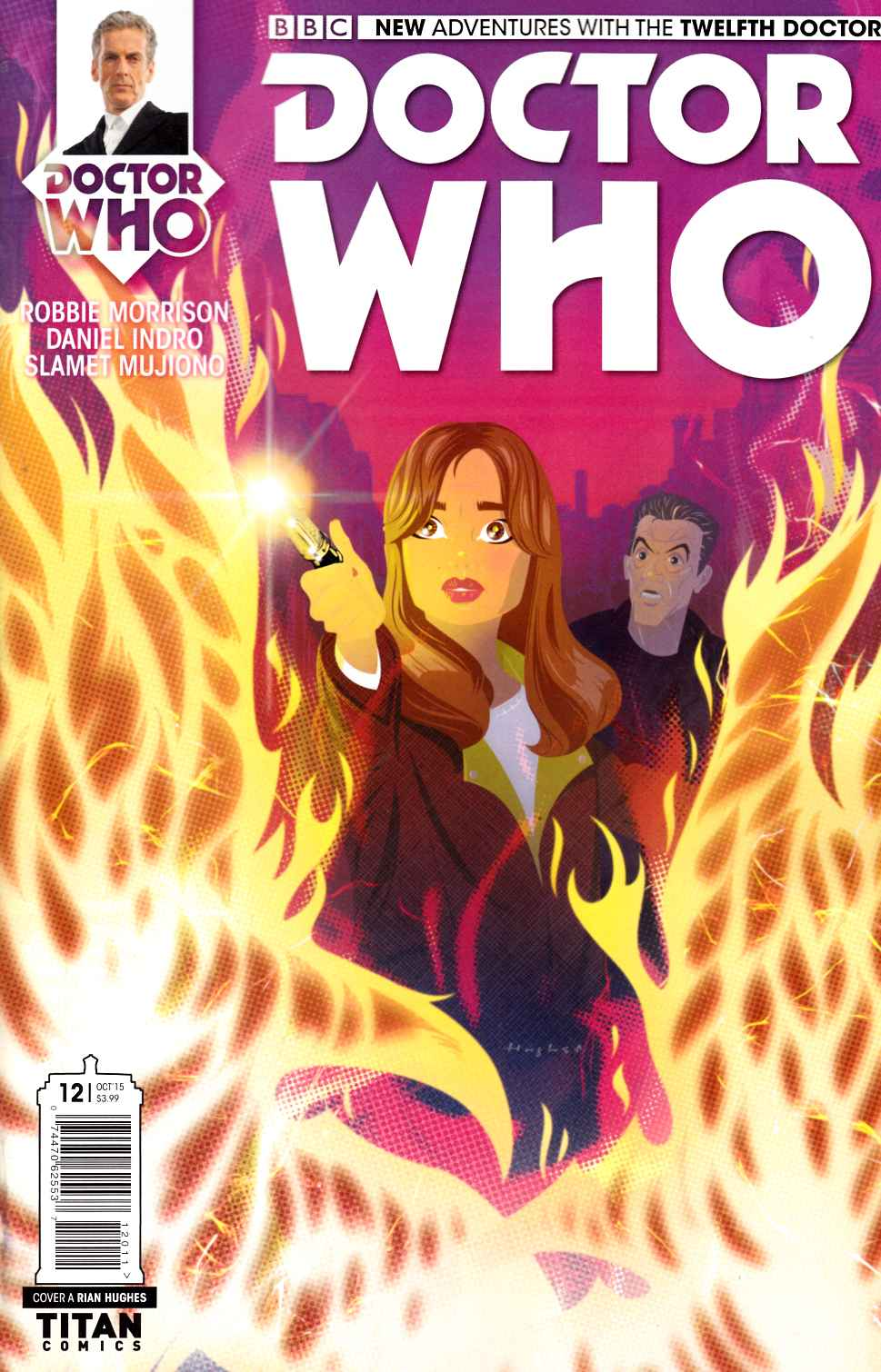 Doctor Who 12th Doctor #12 [Titan Comic] THUMBNAIL