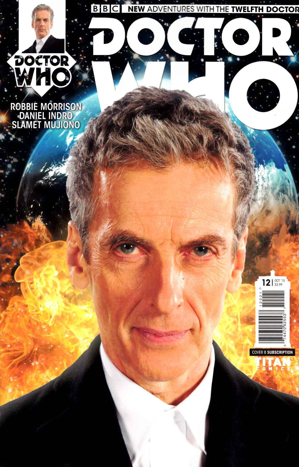 Doctor Who 12th Doctor #12 Subscription Photo [Titan Comic] THUMBNAIL