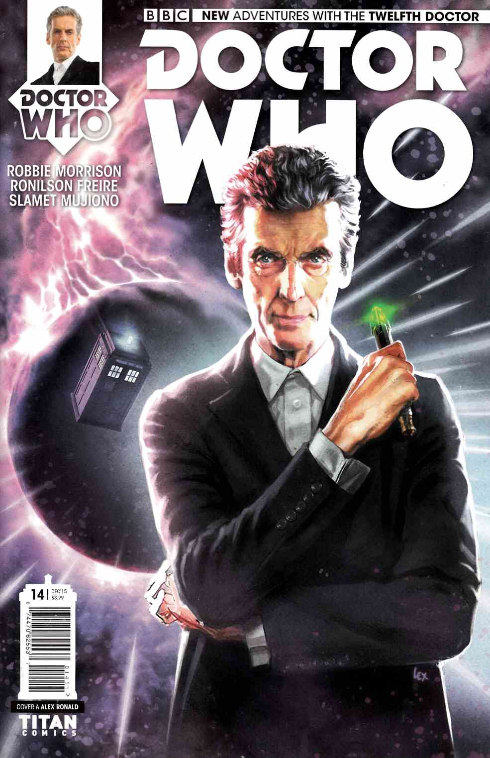 Doctor Who 12th Doctor #14 [Titan Comic] THUMBNAIL