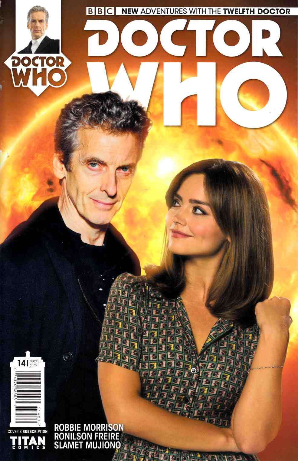 Doctor Who 12th Doctor #14 Subscription Photo Cover [Titan Comic] THUMBNAIL