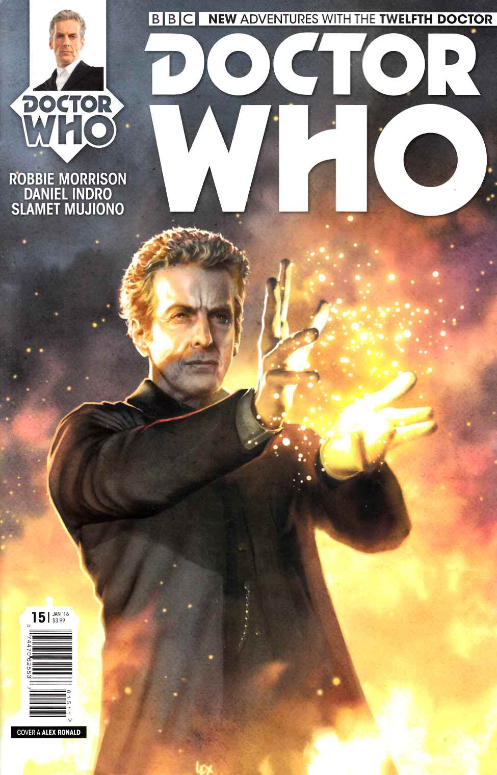 Doctor Who 12th Doctor #15 [Titan Comic] THUMBNAIL