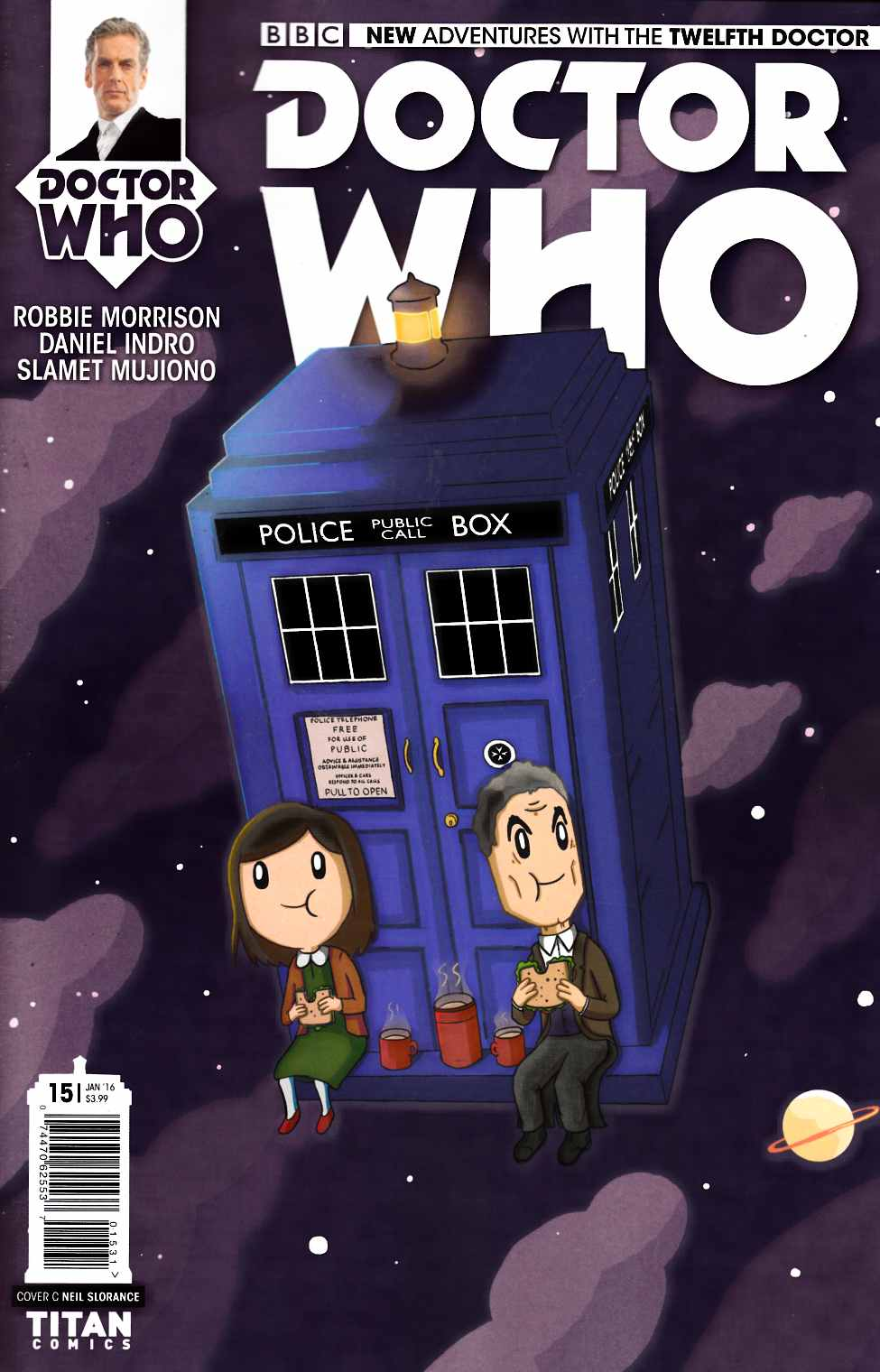 Doctor Who 12th Doctor #15 Slorance Variant Cover [Titan Comic] THUMBNAIL