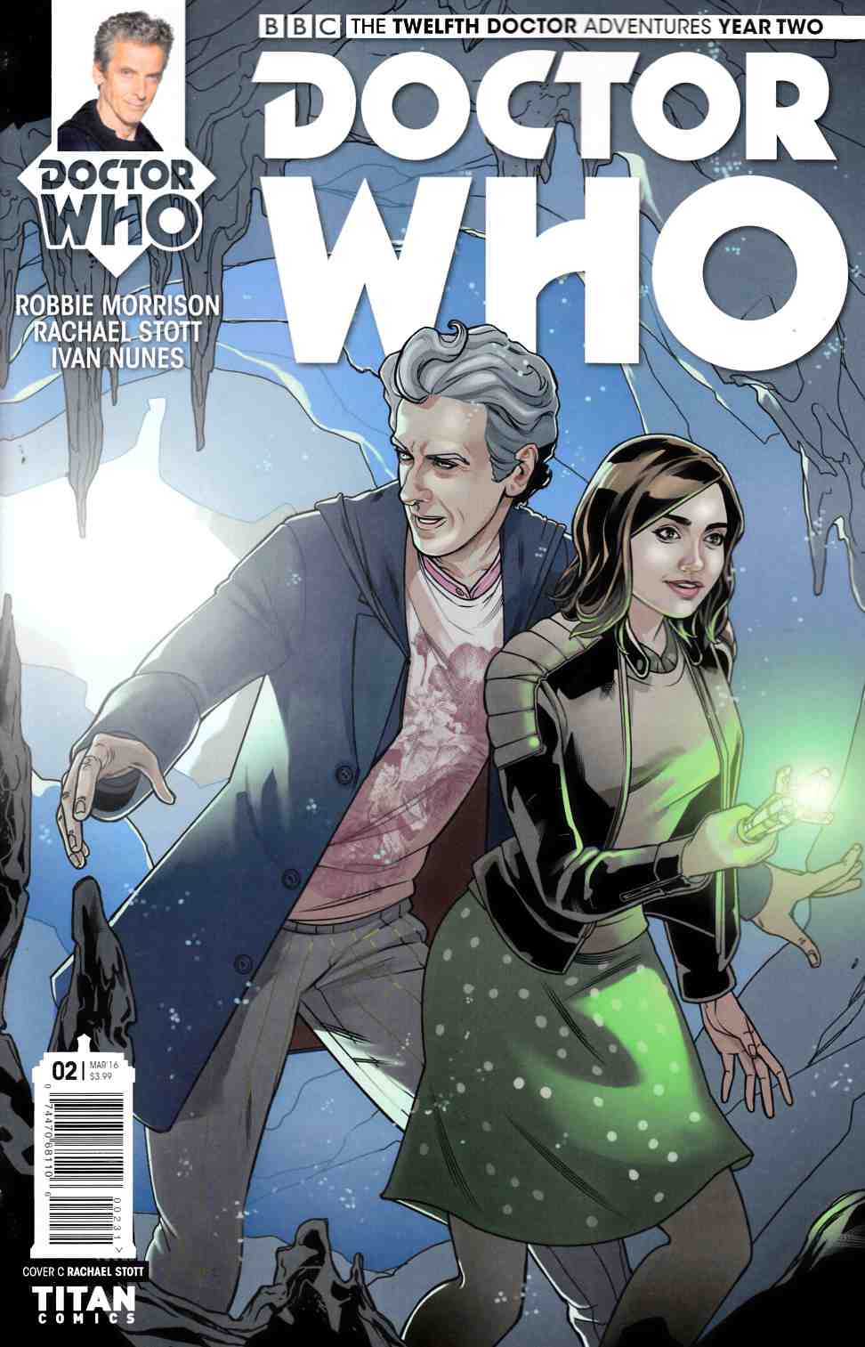 Doctor Who 12th Doctor Year Two #2 Stott Incentive Cover [Titan Comic] THUMBNAIL