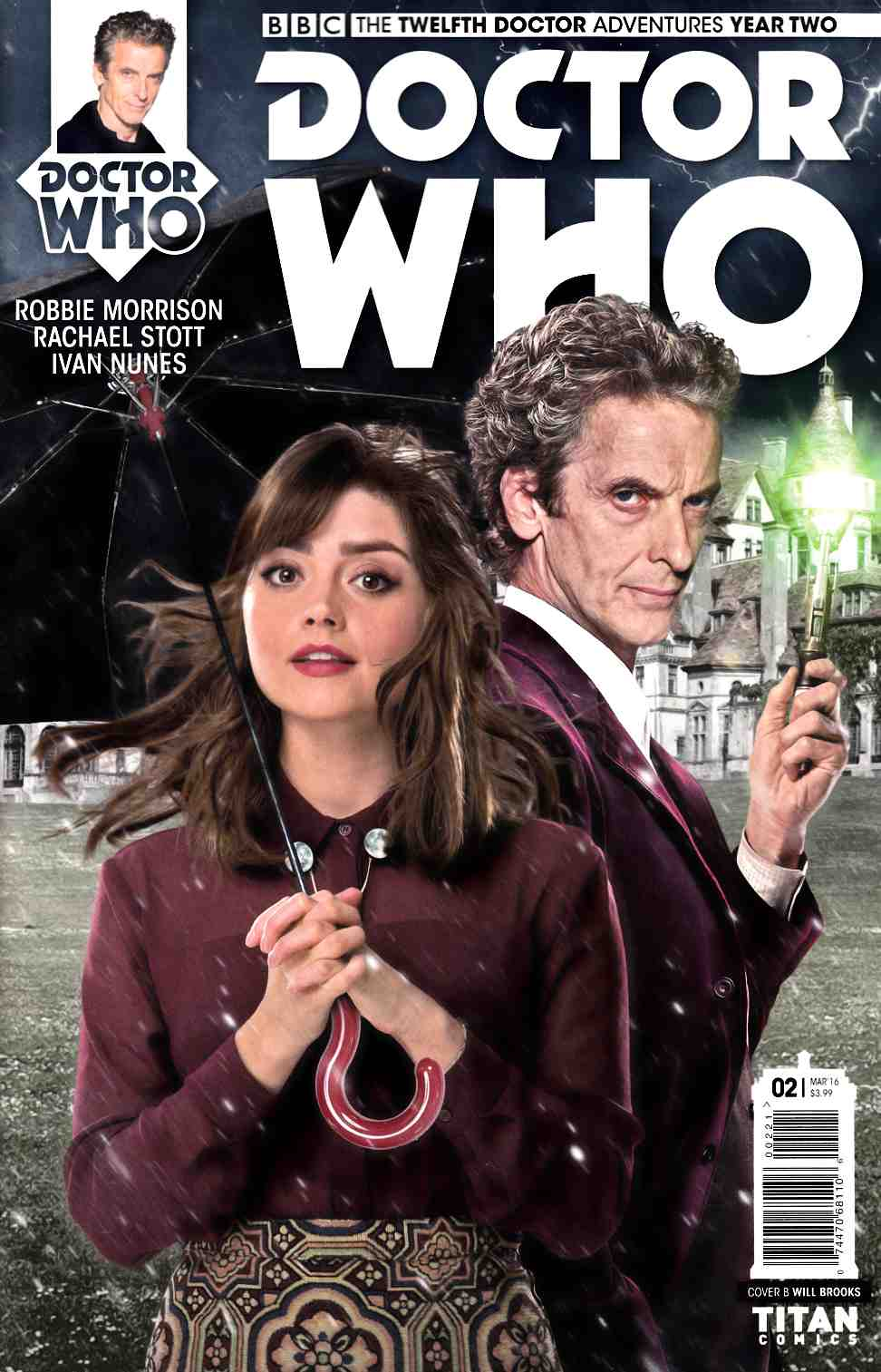 Doctor Who 12th Doctor Year Two #2 Photo Subscription Cover [Titan Comic] THUMBNAIL