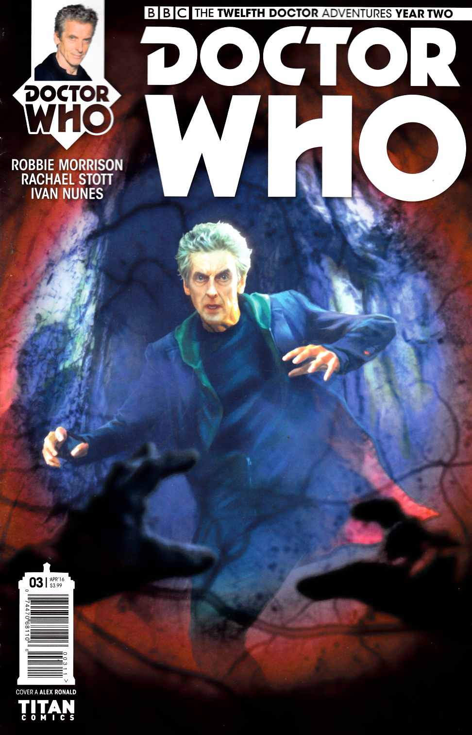Doctor Who 12th Doctor Year Two #3 Cover A- Ronald [Titan Comic] THUMBNAIL