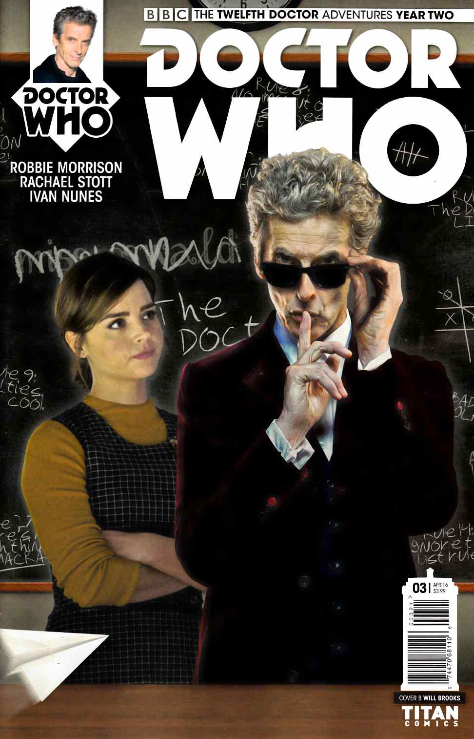 Doctor Who 12th Doctor Year Two #3 Cover B- Photo [Titan Comic]