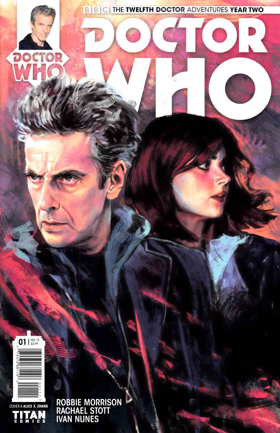 Doctor Who 12th Doctor Year 2 #1 [Titan Comic] THUMBNAIL