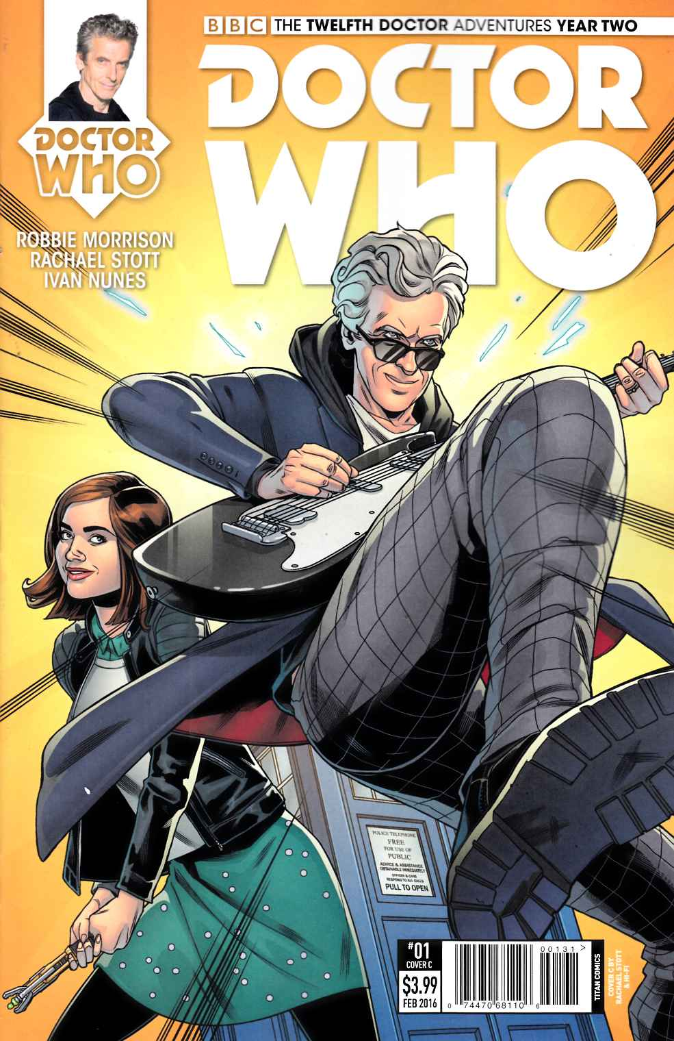 Doctor Who 12th Doctor Year 2 #1 Stott Variant Cover [Titan Comic] THUMBNAIL