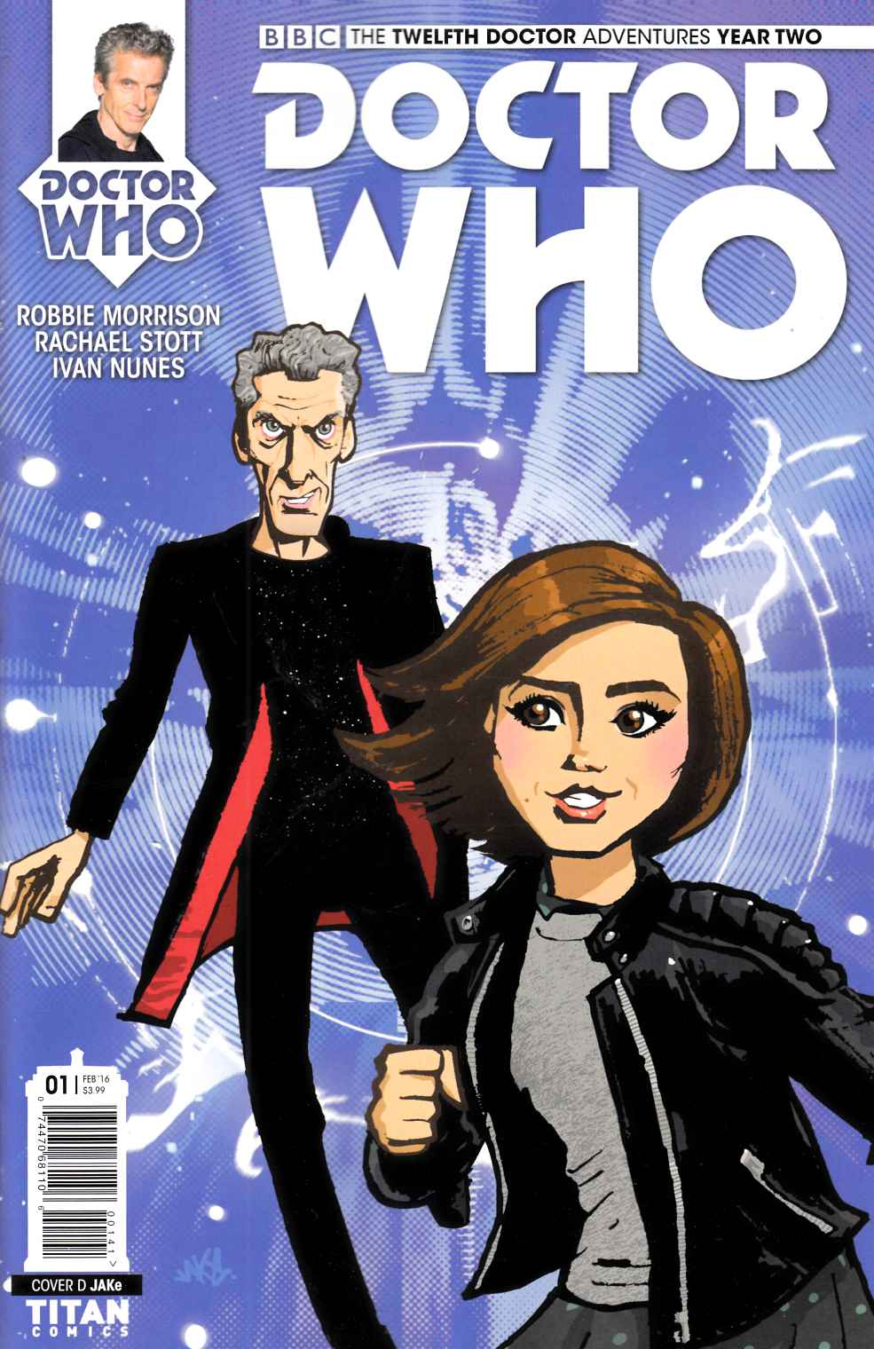 Doctor Who 12th Doctor Year 2 #1 Jake Variant Cover [Titan Comic] THUMBNAIL