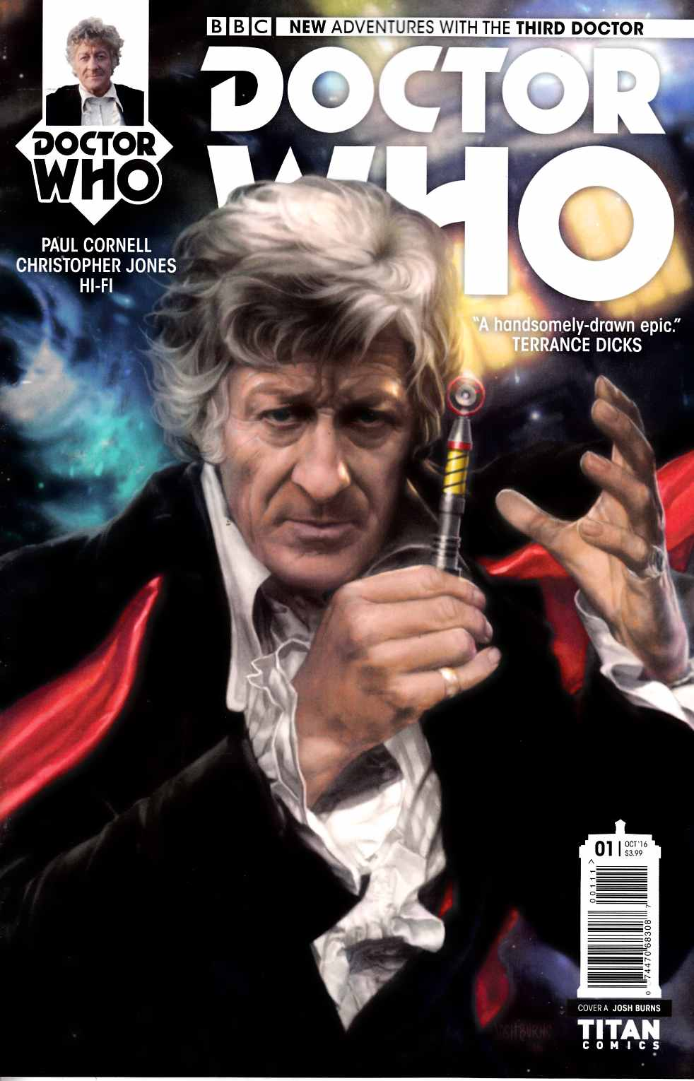 Doctor Who 3rd Doctor #1 Cover A [Titan Comic] THUMBNAIL