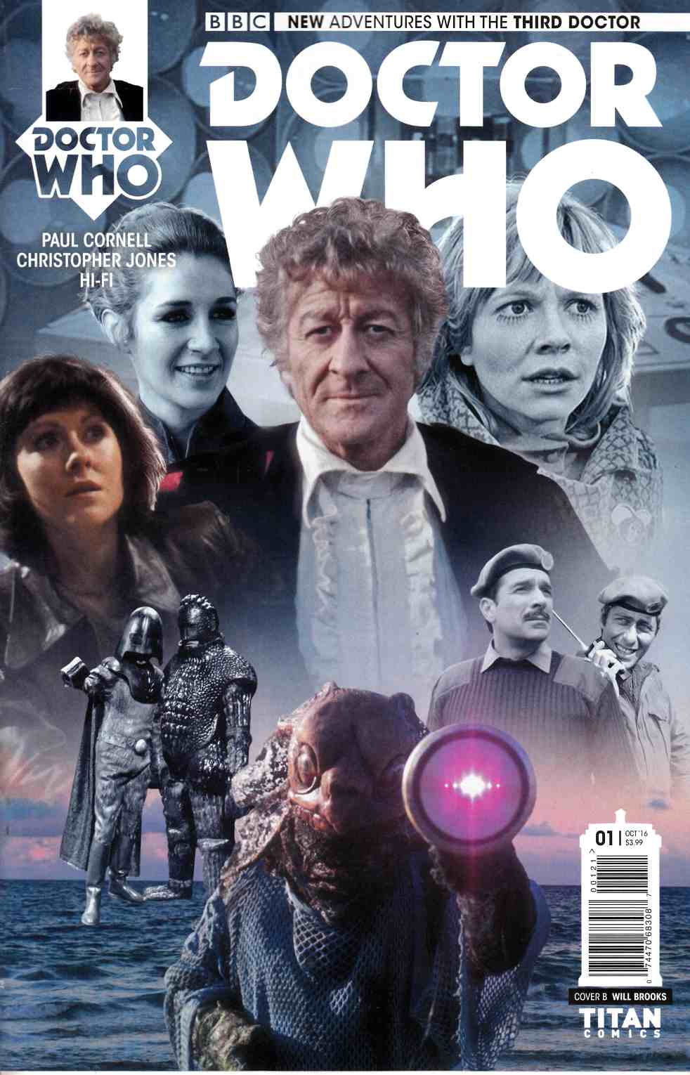 Doctor Who 3rd Doctor #1 Cover B [Titan Comic]