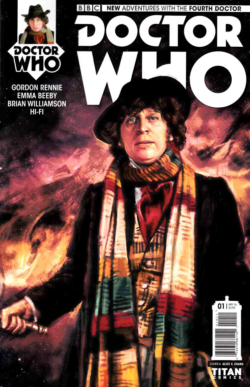 Doctor Who 4th Doctor #1 Cover A [Titan Comic]_LARGE
