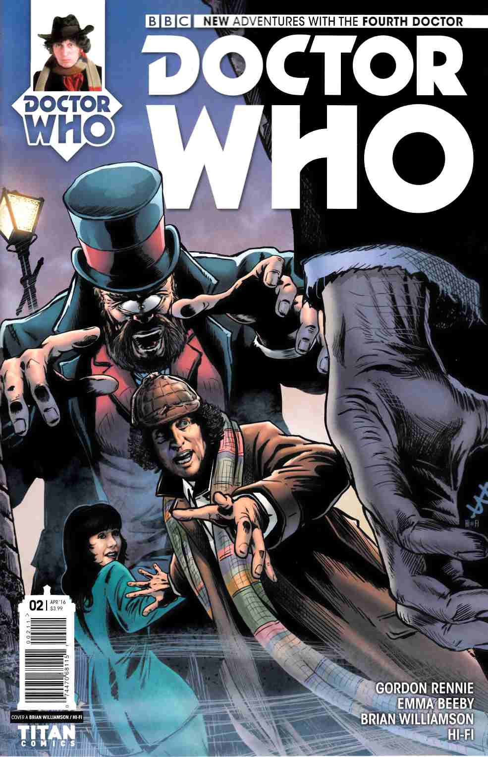 Doctor Who 4th Doctor #2 Cover A [Titan Comic] THUMBNAIL