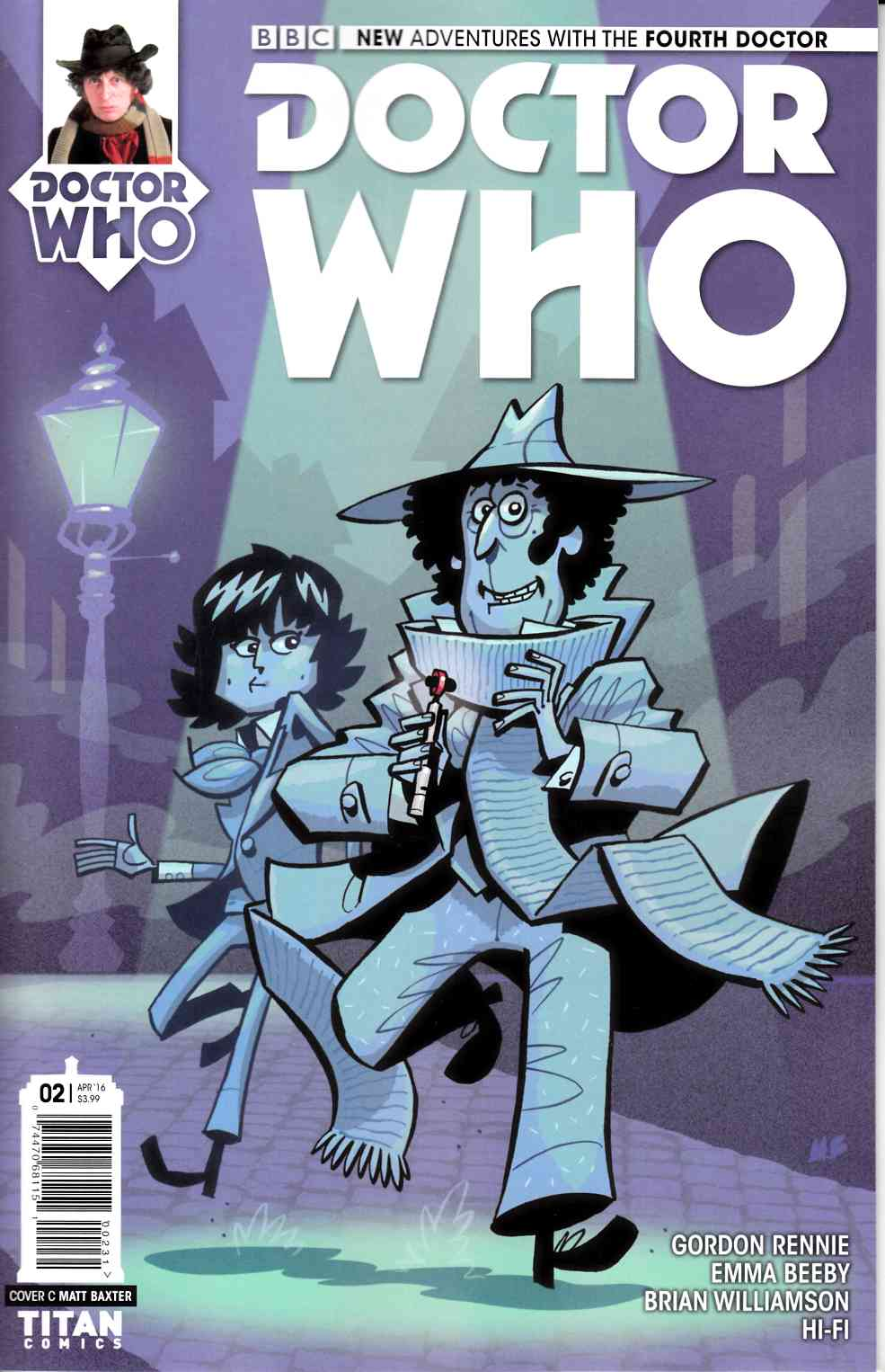 Doctor Who 4th Doctor #2 Cover C [Titan Comic] LARGE