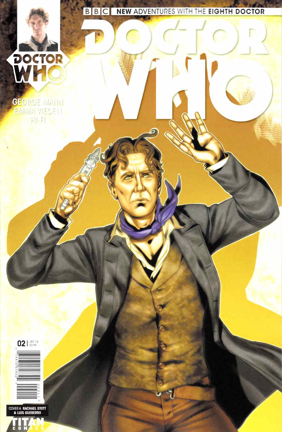 Doctor Who 8th Doctor #2 [Titan Comic] LARGE