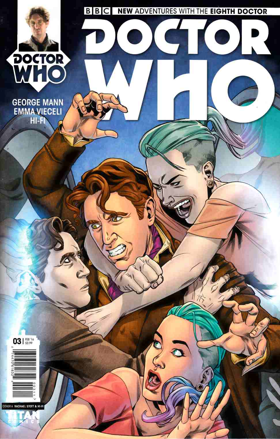 Doctor Who 8th Doctor #3 [Titan Comic] THUMBNAIL