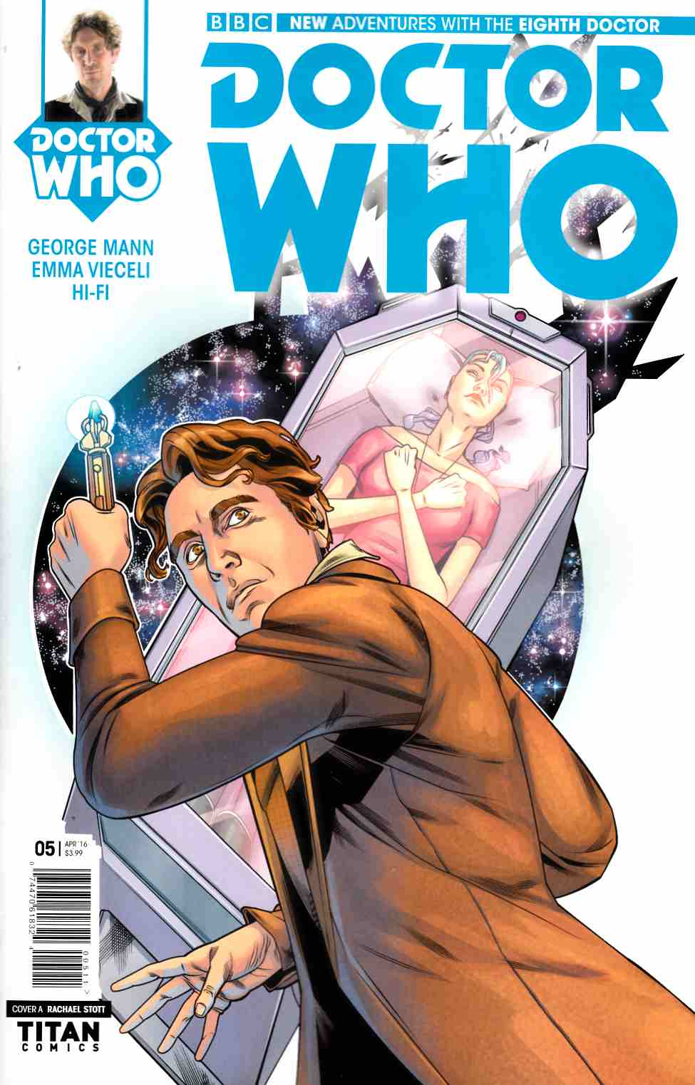 Doctor Who 8th Doctor #5 Cover A- Stott [Titan Comic] THUMBNAIL