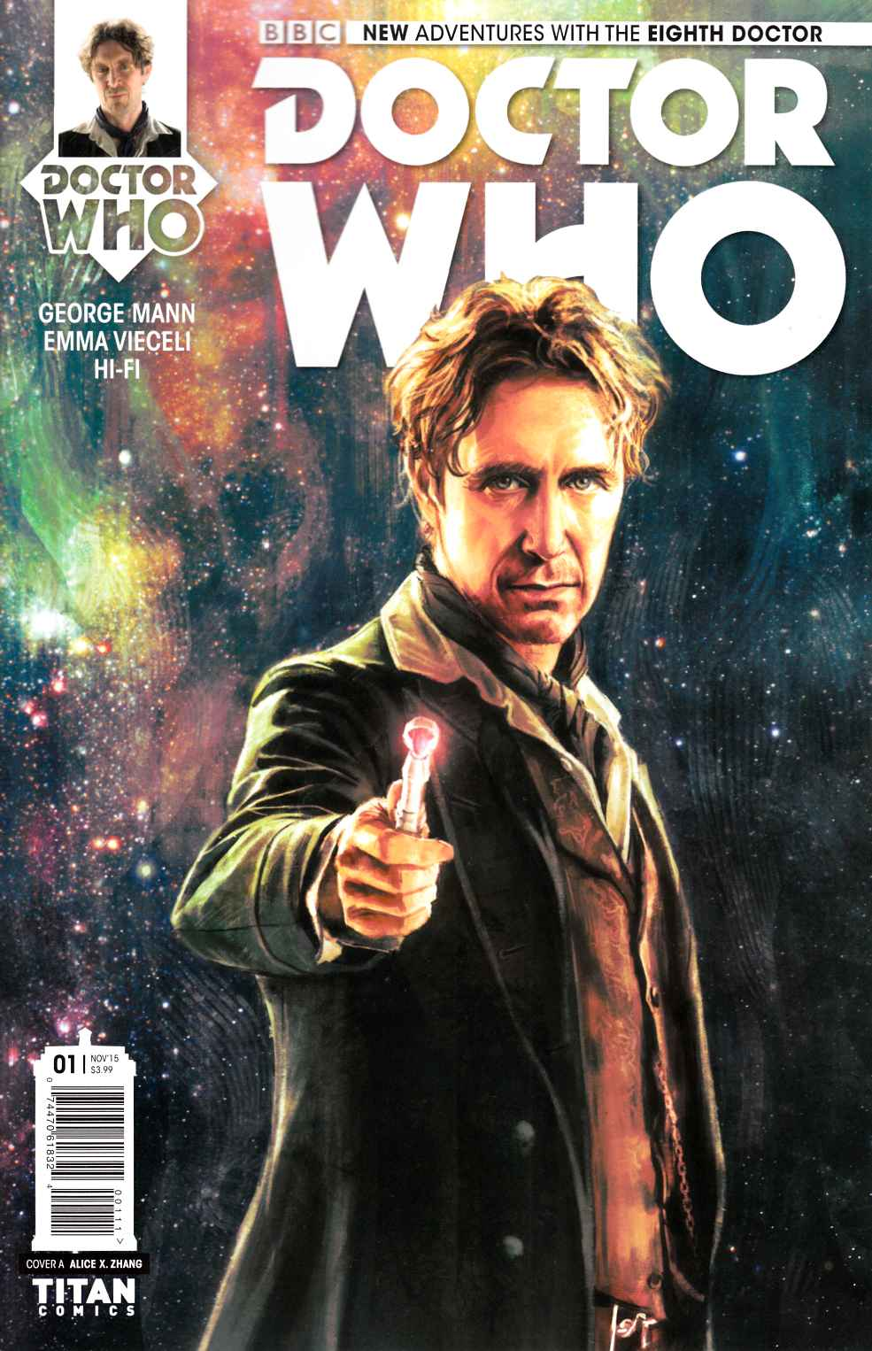Doctor Who 8th Doctor #1 [Titan Comic] THUMBNAIL