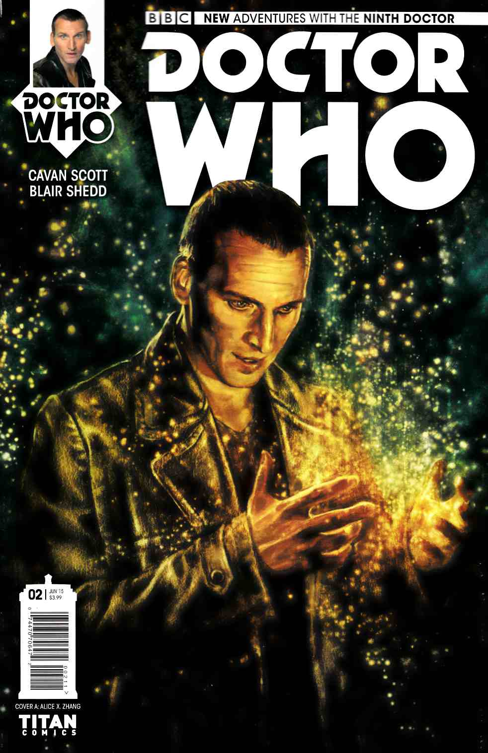 Doctor Who 9th Doctor #2 [Titan Comic] THUMBNAIL