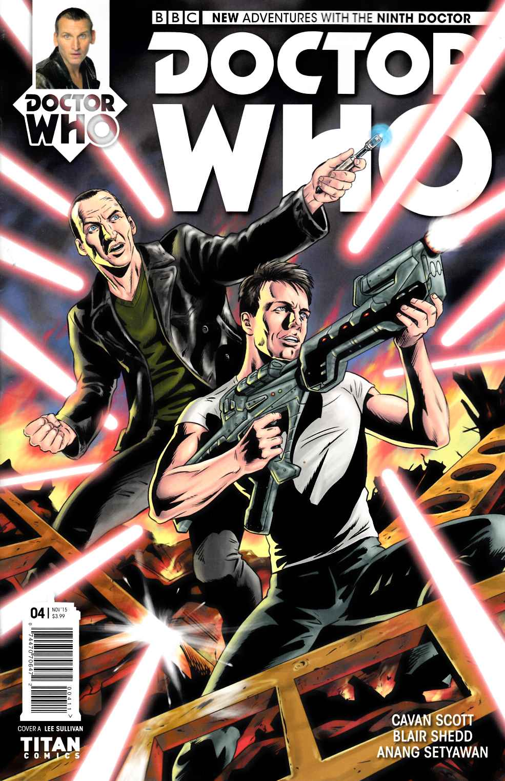 Doctor Who 9th Doctor #4 [Titan Comic] THUMBNAIL