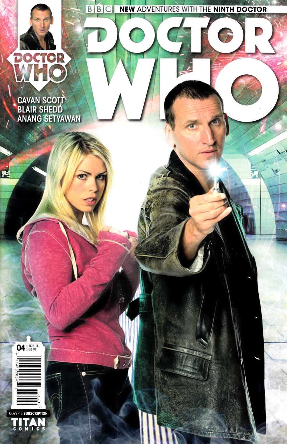 Doctor Who 9th Doctor #4 Subscription Photo Variant Cover [Titan Comic] THUMBNAIL