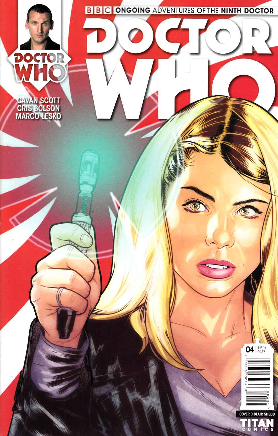 Doctor Who 9th Doctor #4 Cover C [Titan Comic] LARGE