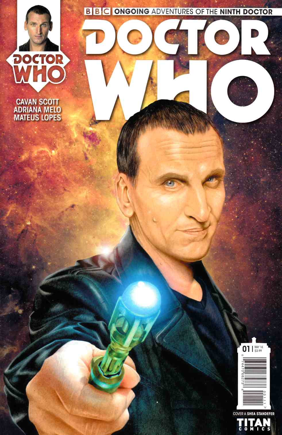 Doctor Who 9th Doctor #1 Cover A [Titan Comic] THUMBNAIL