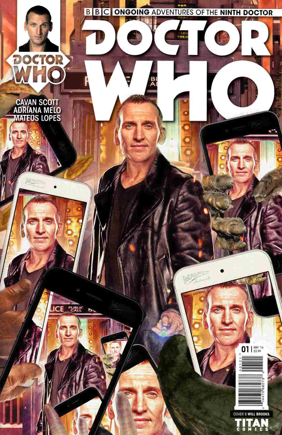 Doctor Who 9th Doctor #1 Cover B [Titan Comic] THUMBNAIL