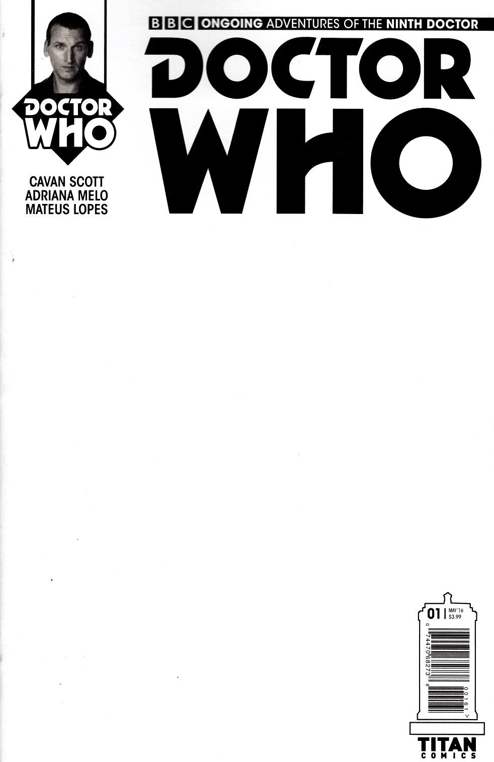 Doctor Who 9th Doctor #1 Cover F [Titan Comic] THUMBNAIL