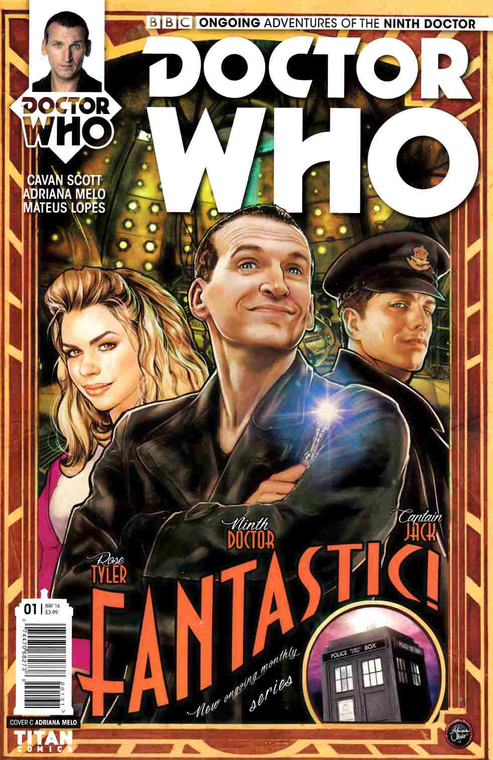 Doctor Who 9th Doctor #1 Cover C [Titan Comic] THUMBNAIL