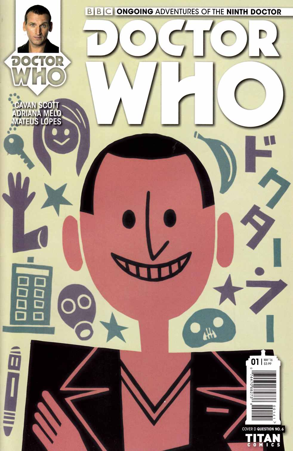 Doctor Who 9th Doctor #1 Cover D [Titan Comic] THUMBNAIL