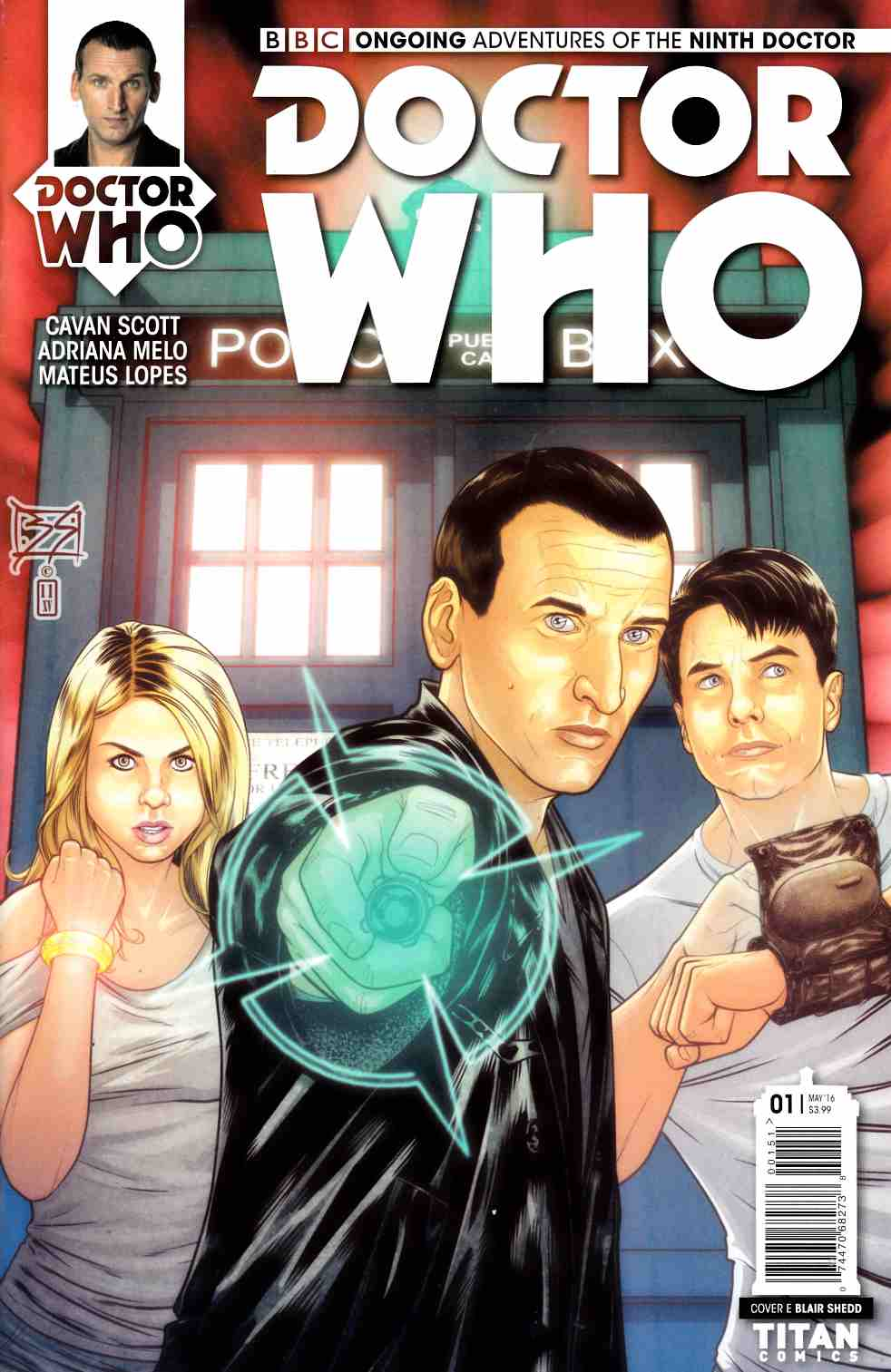 Doctor Who 9th Doctor #1 Cover E [Titan Comic] THUMBNAIL