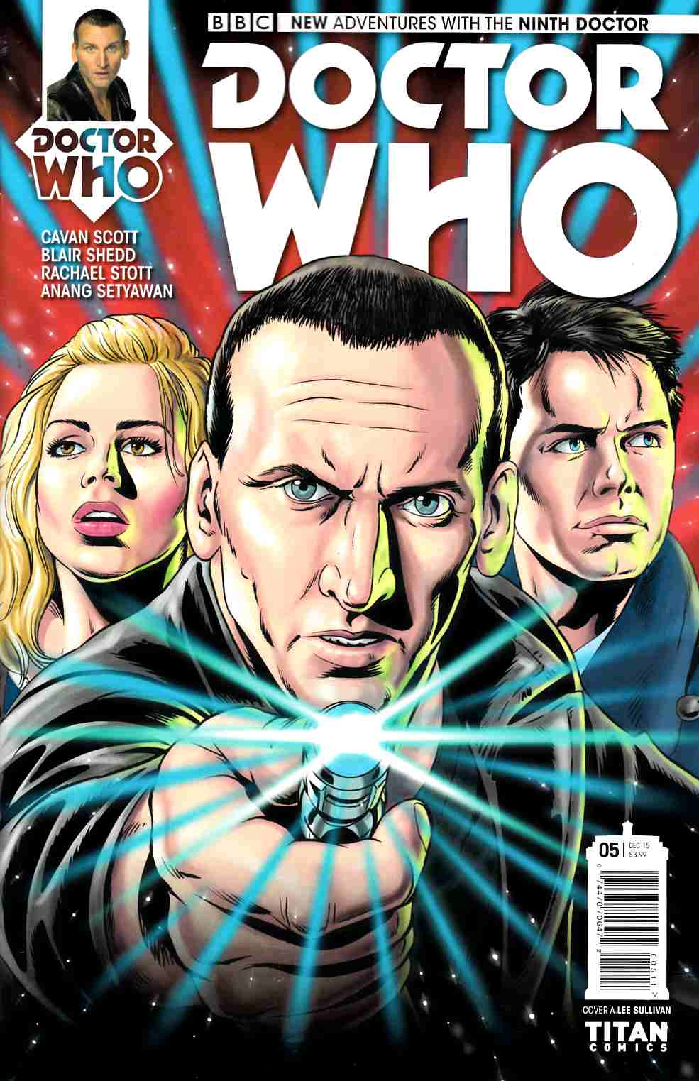 Doctor Who 9th Doctor #5 [Titan Comic] THUMBNAIL