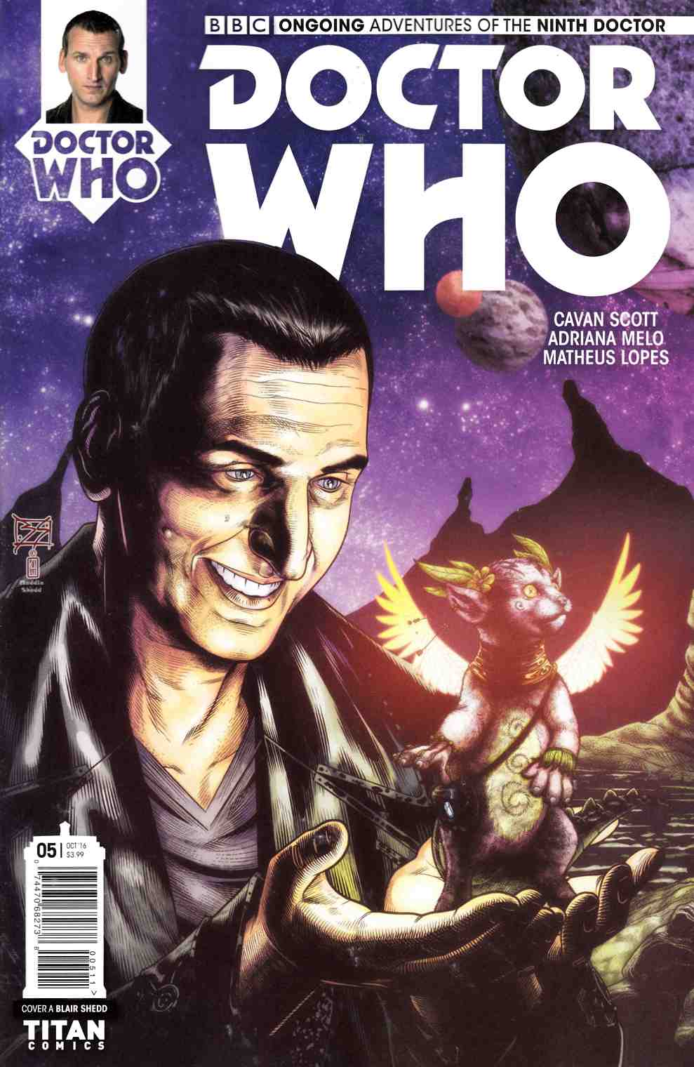 Doctor Who 9th Doctor #5 Cover A [Titan Comic] LARGE