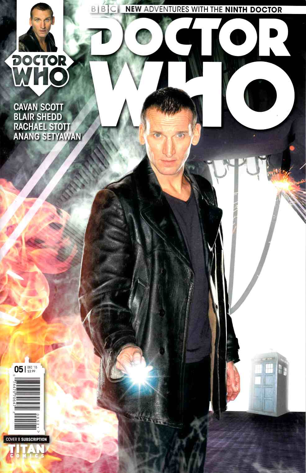 Doctor Who 9th Doctor #5 Subscription Photo Cover [Titan Comic] THUMBNAIL