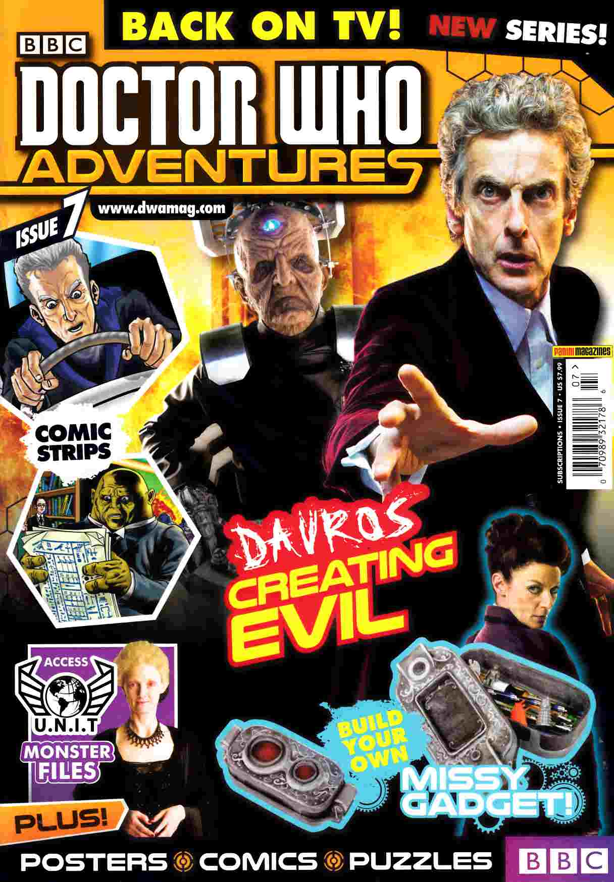 Doctor Who Adventures Magazine #7 [Titan Magazine] THUMBNAIL