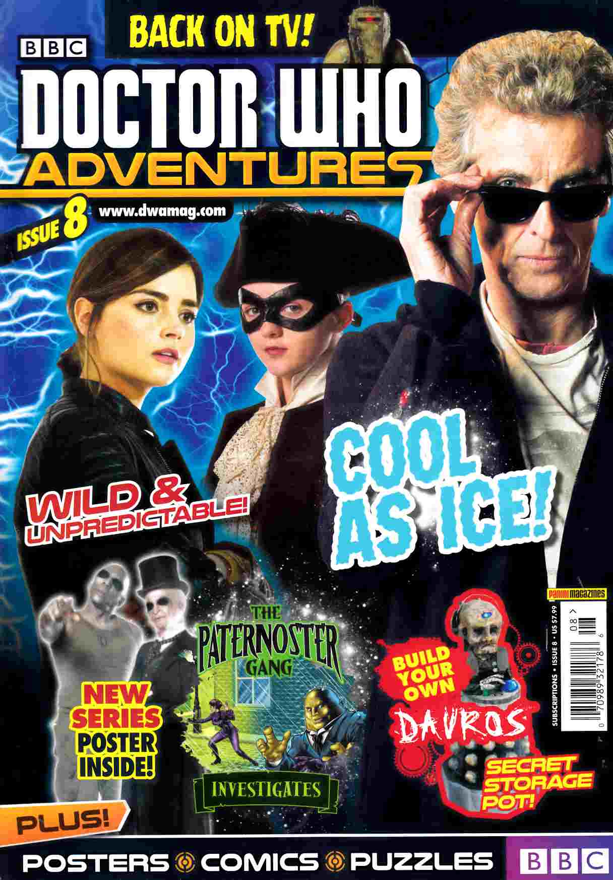Doctor Who Adventures Magazine #8 [Titan Magazine] THUMBNAIL