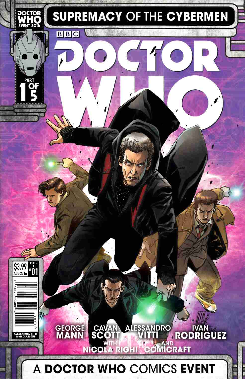 Doctor Who Supremacy of the Cybermen #1 Cover A [Titan Comic] THUMBNAIL