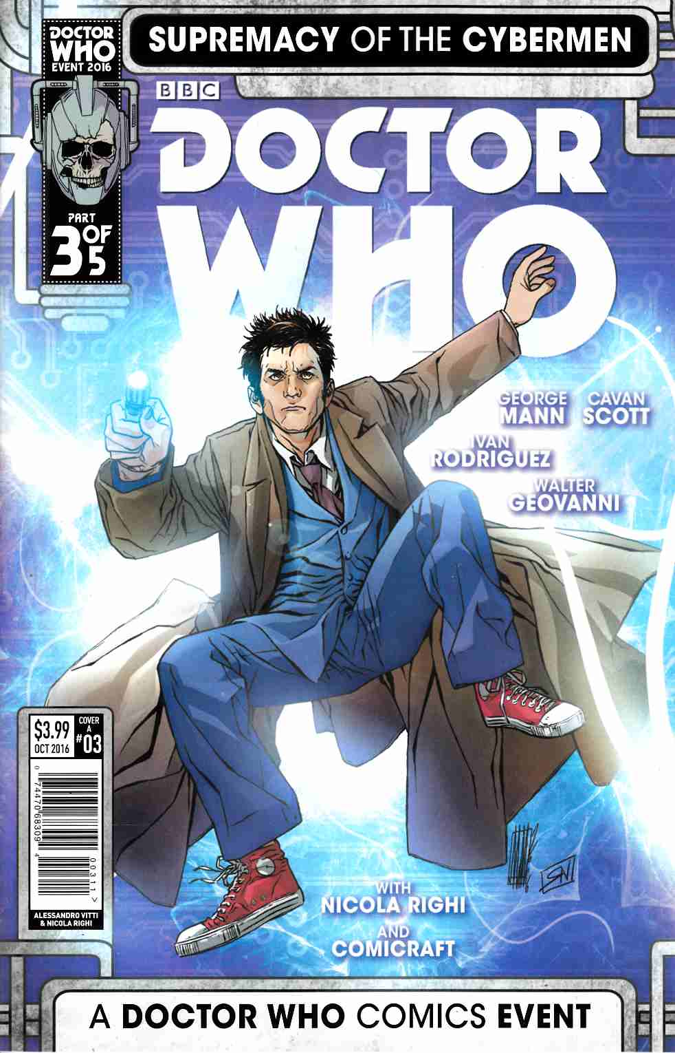 Doctor Who Supremacy of the Cybermen #3 Cover A [Titan Comic] THUMBNAIL