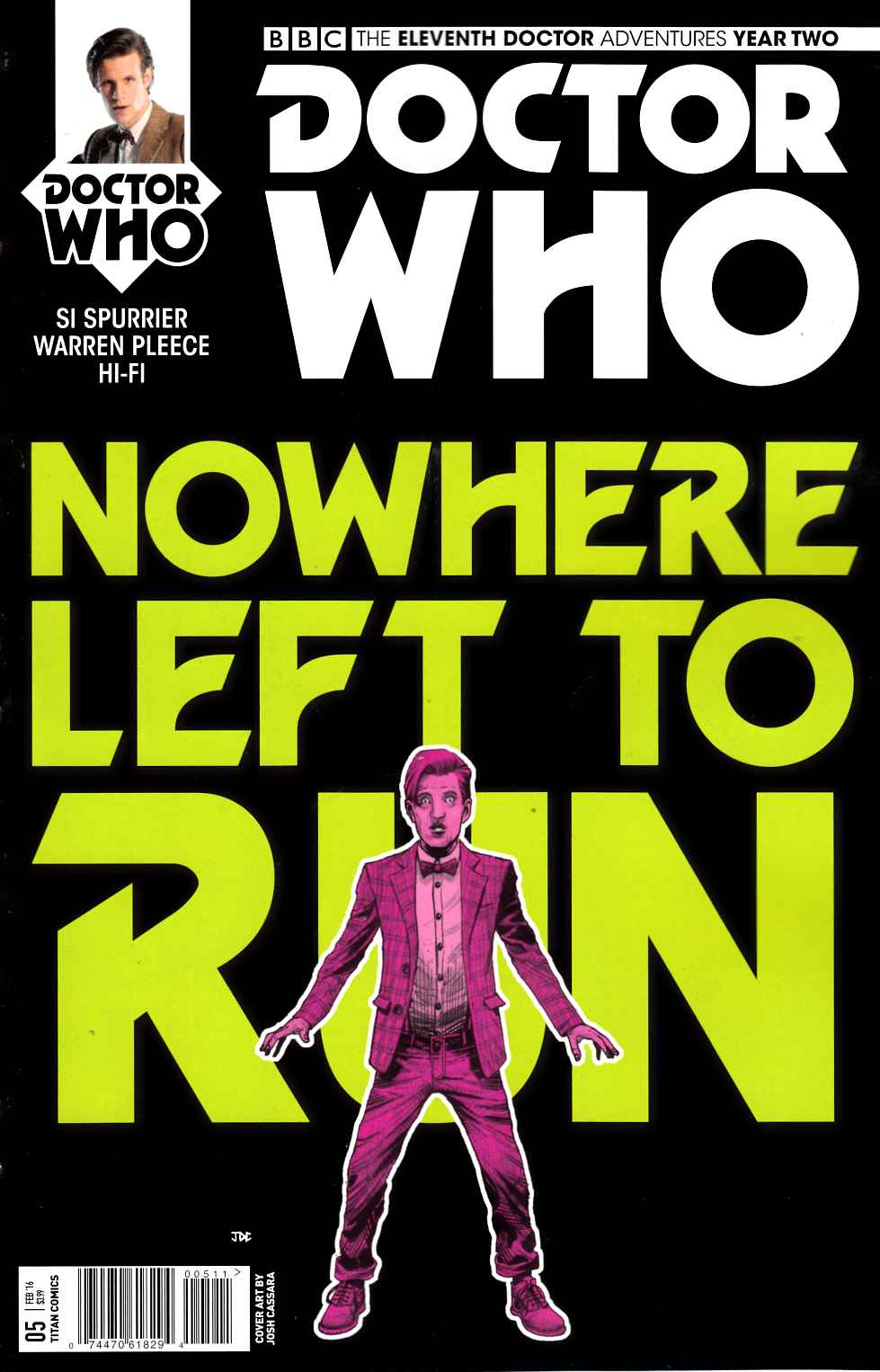 Doctor Who 11th Doctor Year 2 #5 [Titan Comic] THUMBNAIL